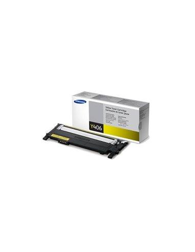 Samsung CLT-Y406S Yellow Toner Cartridge