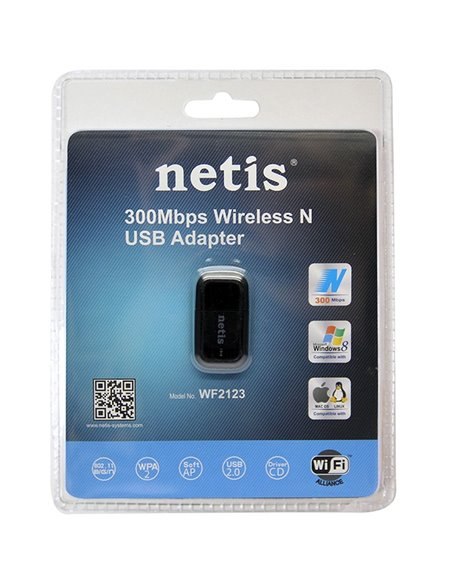 Netis Wireless N USB 300Mbps Adapter